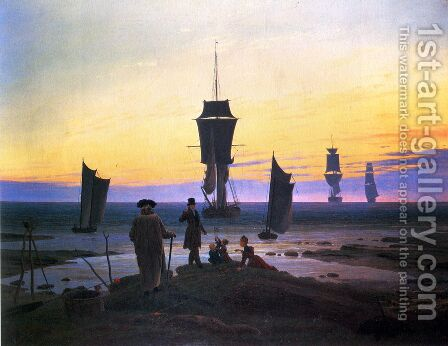 The Stages of Life by Caspar David Friedrich - Reproduction Oil Painting