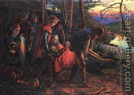 Knight of the Sun by Arthur Hughes - Reproduction Oil Painting