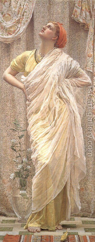 Birds by Albert Joseph Moore - Reproduction Oil Painting