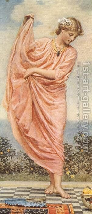 Oranges by Albert Joseph Moore - Reproduction Oil Painting