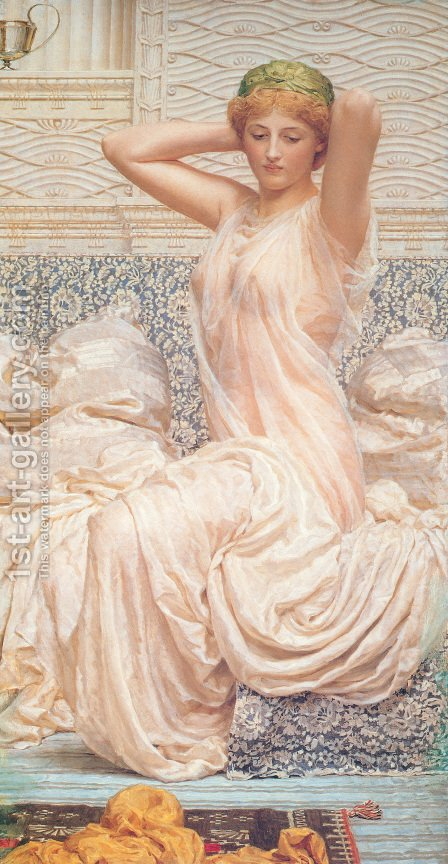 Silver by Albert Joseph Moore - Reproduction Oil Painting