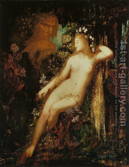 Galatea I by Gustave Moreau - Reproduction Oil Painting