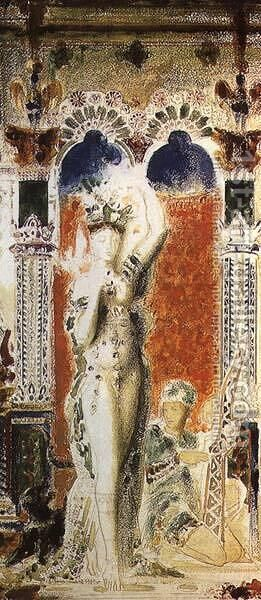 Salome II by Gustave Moreau - Reproduction Oil Painting