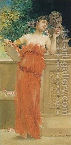 Lais by Henry Siddons Mowbray - Reproduction Oil Painting