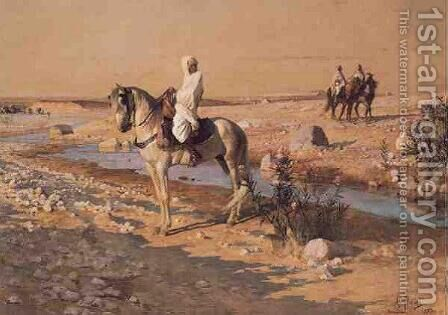 At Rest in the Desert by Armand Point - Reproduction Oil Painting