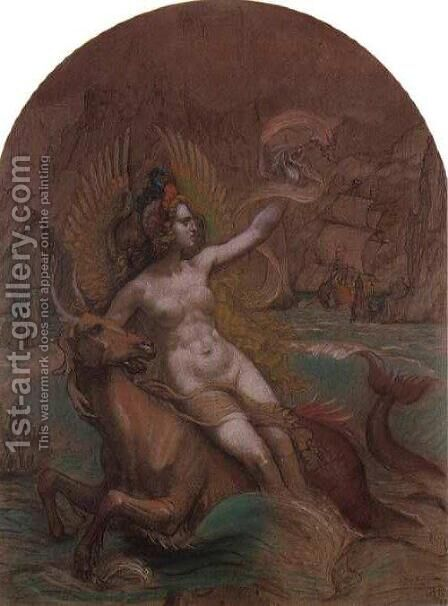 Siren by Armand Point - Reproduction Oil Painting