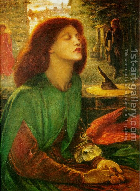 Beata Beatrix 2 by Dante Gabriel Rossetti - Reproduction Oil Painting