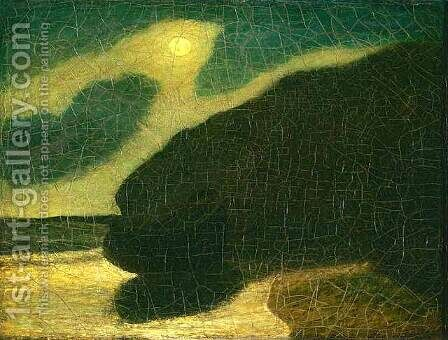Moonlit Cove by Albert Pinkham Ryder - Reproduction Oil Painting