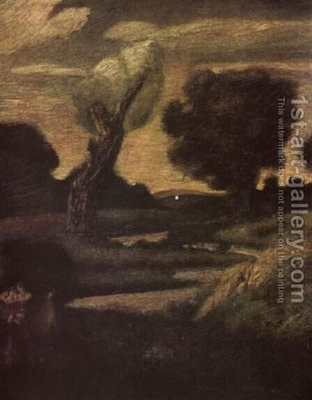 The Forest of Arden by Albert Pinkham Ryder - Reproduction Oil Painting