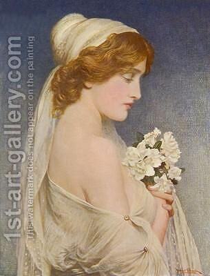 Iphigenia by Herbert Gustav Schmalz - Reproduction Oil Painting
