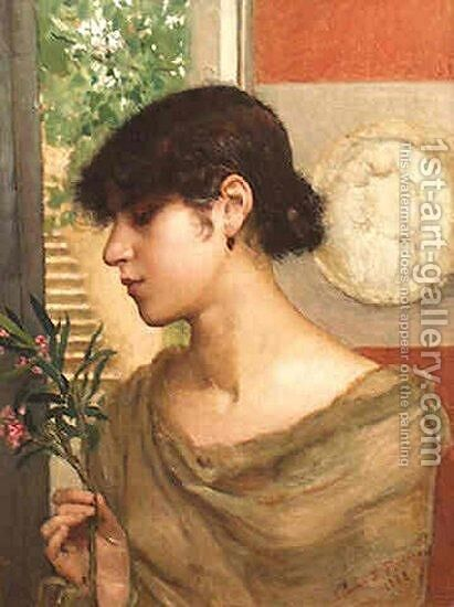 Oleander by Annie Louise Swynnerton - Reproduction Oil Painting