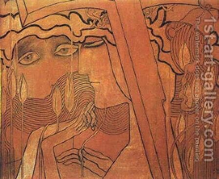 Desire and Fulfillment by Jan Toorop - Reproduction Oil Painting