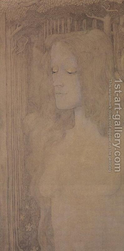 Nirvana by Jan Toorop - Reproduction Oil Painting