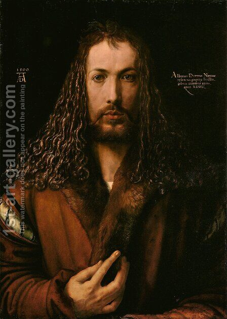Self-Portrait II by Albrecht Durer - Reproduction Oil Painting