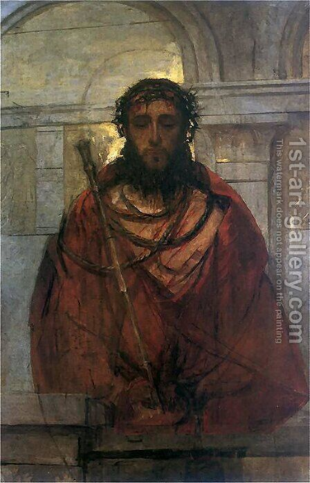 Ecce Homo by Adam Chmielowski - Reproduction Oil Painting