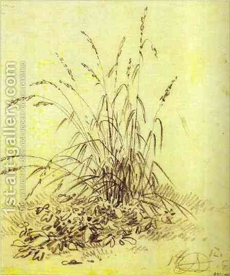 Grass by Aleksander Orlowski - Reproduction Oil Painting