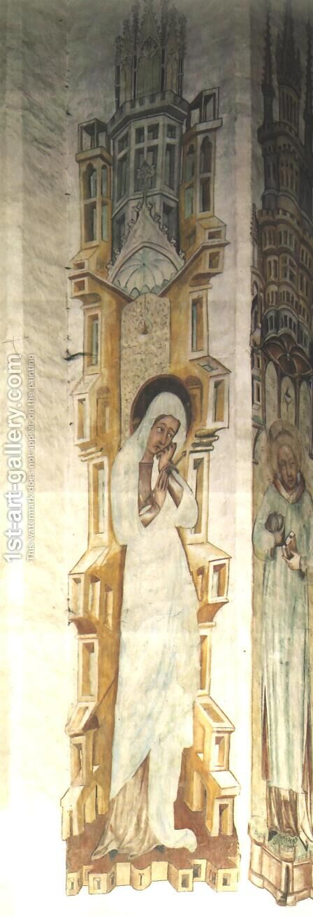Our Lady of Sorrows I by - Unknown Painter - Reproduction Oil Painting