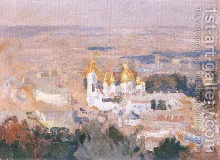 Kiev by Jan Stanislawski - Reproduction Oil Painting