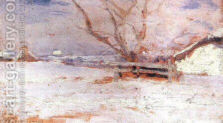 Winter Landscape I by Jan Stanislawski - Reproduction Oil Painting