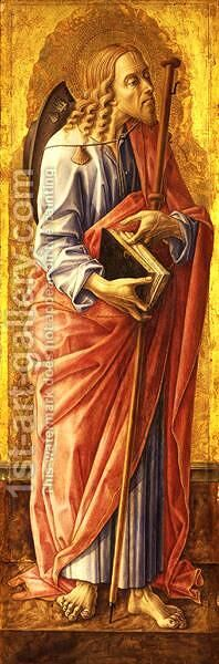 St James the Greater by Carlo Crivelli - Reproduction Oil Painting