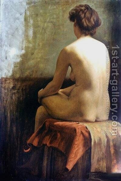 Female Nude II by Charles H. Freeth - Reproduction Oil Painting