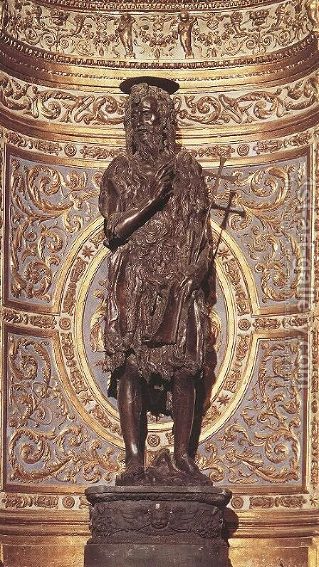 St John the Baptist by Donatello - Reproduction Oil Painting