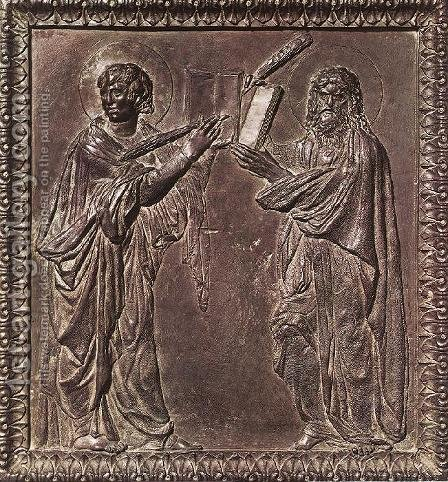 Panel of the door with the Martyrs by Donatello - Reproduction Oil Painting