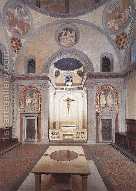 Old Sacristy by Donatello - Reproduction Oil Painting