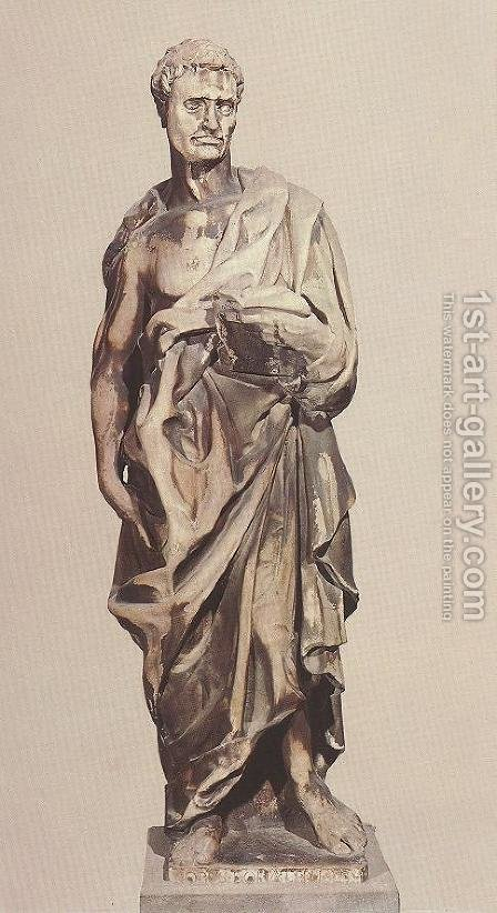 Prophet Jeremiah by Donatello - Reproduction Oil Painting