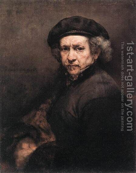 Self-Portrait III by Harmenszoon van Rijn Rembrandt - Reproduction Oil Painting