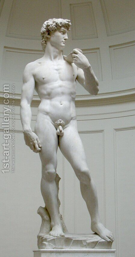 David by Michelangelo - Reproduction Oil Painting