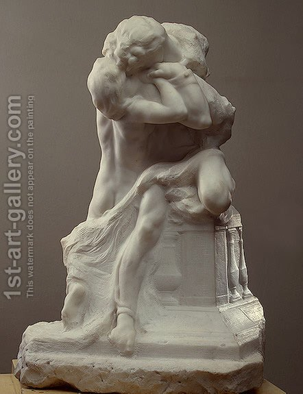 Romeo and Juliet by Auguste Rodin - Reproduction Oil Painting