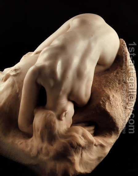 Danaid by Auguste Rodin - Reproduction Oil Painting