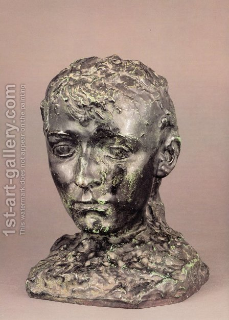 Camille Claudel I by Auguste Rodin - Reproduction Oil Painting