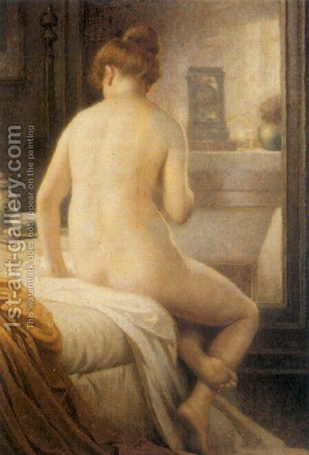 The Bather by Antony Troncet - Reproduction Oil Painting