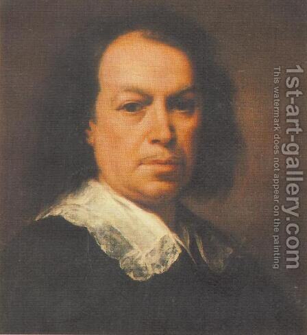 Self-Portrait by Bartolome Esteban Murillo - Reproduction Oil Painting