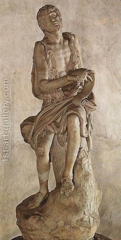 St John the Baptist by Jacopo Sansovino - Reproduction Oil Painting
