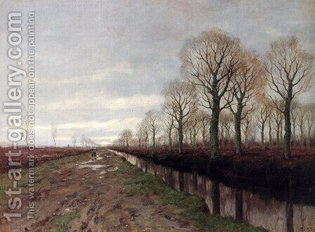 After The Rain by Arnold Marc Gorter - Reproduction Oil Painting