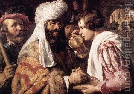 Pilate Washing his Hands I by Jan Lievens - Reproduction Oil Painting