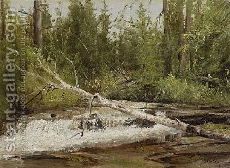 Forest Stream by Charles Henry Gifford - Reproduction Oil Painting