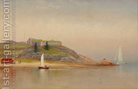 Fort Phoenix by Charles Henry Gifford - Reproduction Oil Painting