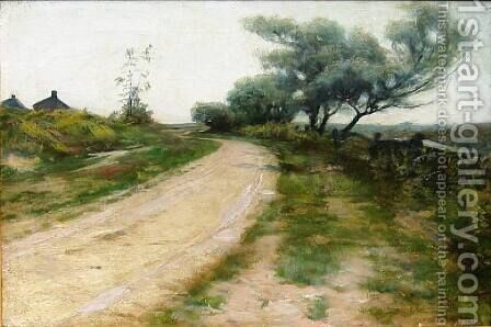 The Road to the Coast, 1885 by Alexander Thomas Harrison - Reproduction Oil Painting