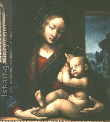 Noseda Madonna by Bernadino Zenale - Reproduction Oil Painting