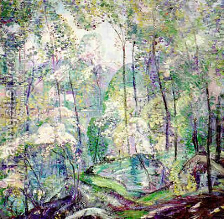 Laurel Forest by Dorothea M. Litzinger - Reproduction Oil Painting