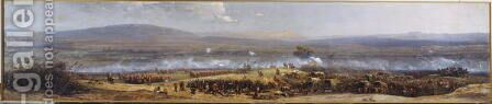 The Battle of Ulnudi on 4th July 1879, c.1880 by Adolphe Yvon - Reproduction Oil Painting