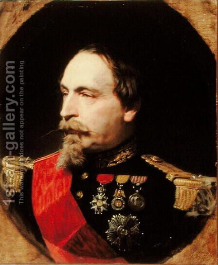 Napoleon III (1808-73) 1868 by Adolphe Yvon - Reproduction Oil Painting