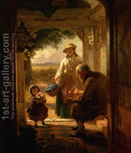The Three Generations by James Clarke Waite - Reproduction Oil Painting