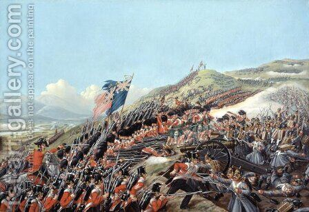 The Battle of Alma on 20th September 1854, 1854 by Edmund Walker - Reproduction Oil Painting