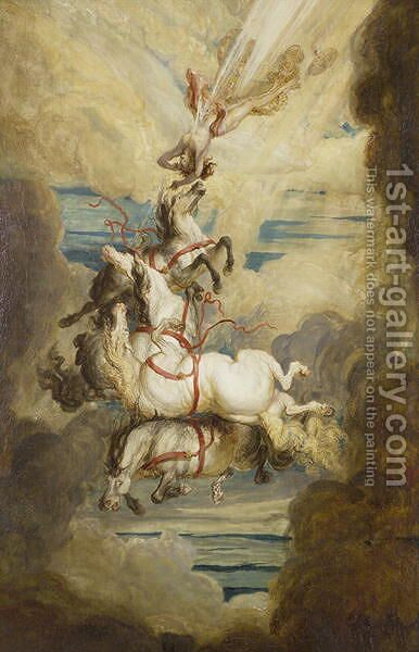 Fall of Phaeton, 1808 by James Ward - Reproduction Oil Painting
