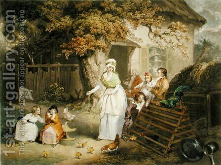 The Citizens Retreat, 1796 by James Ward - Reproduction Oil Painting